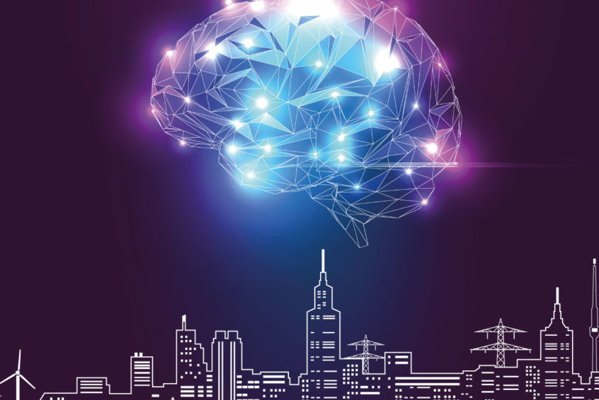 Tech brain city