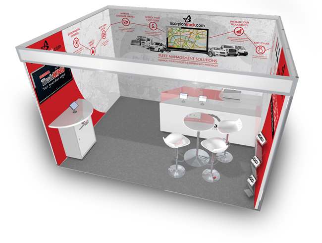 scorpion automotive stand