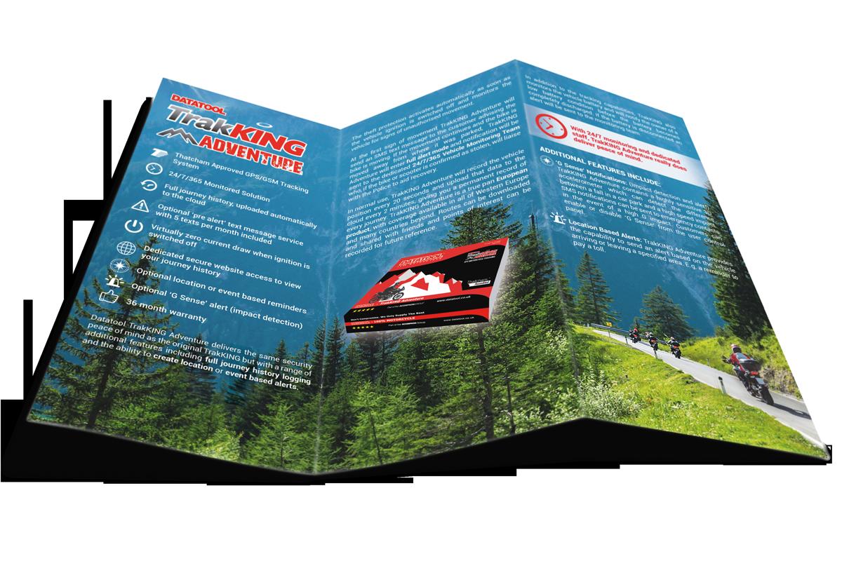 trakKing Adventure - trifold