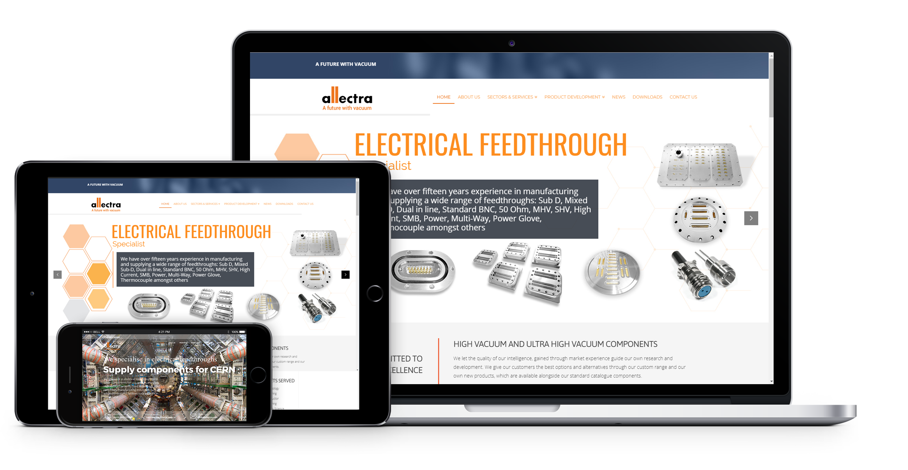 case study - allectra website