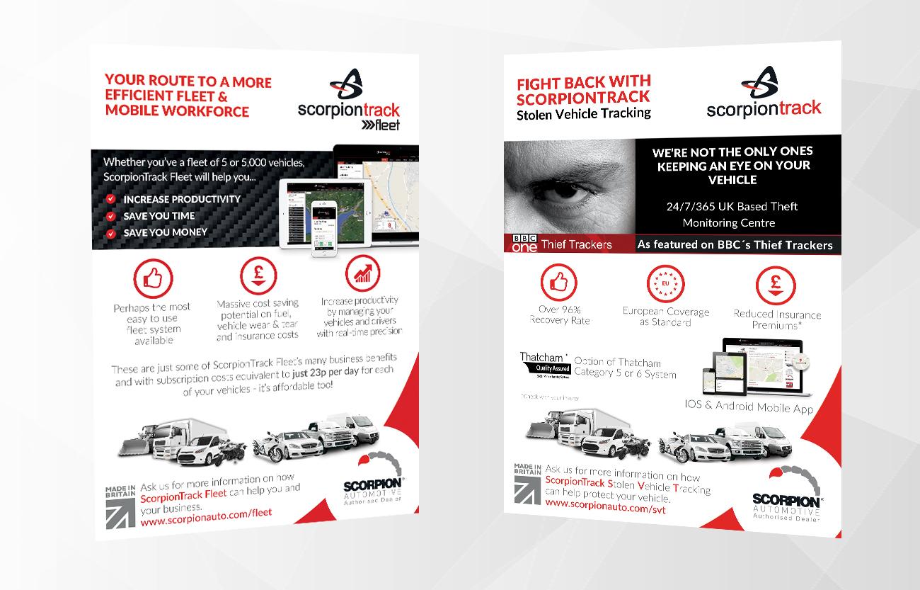 scorpiontrack fleet posters