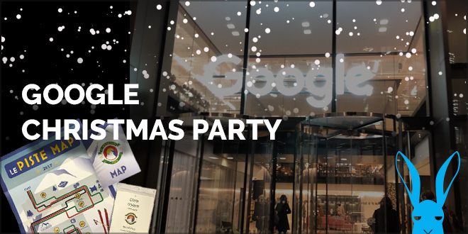 hare invited to google christmas party