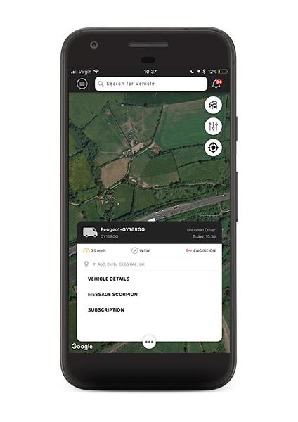 Scorpion-Fleet-app-vehicle-panel