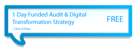 1 Day Funded Audit & Digital Transformation Strategy - FREE