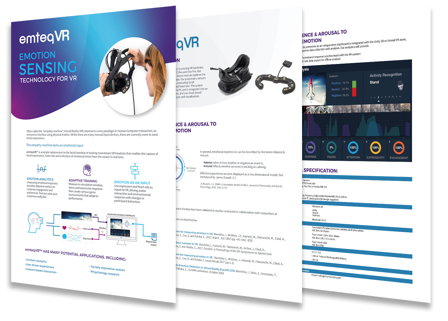 emteq - brochure design
