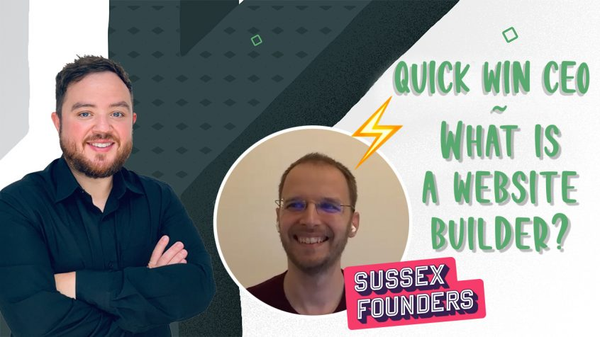 What is a website builder Sussex founders Simon Kimber