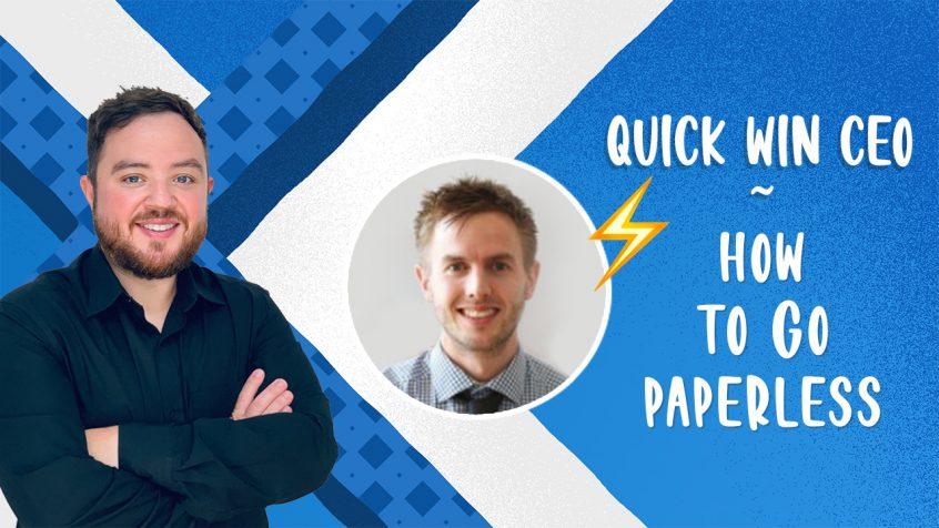 how-to-go-paperless Josh Wallman