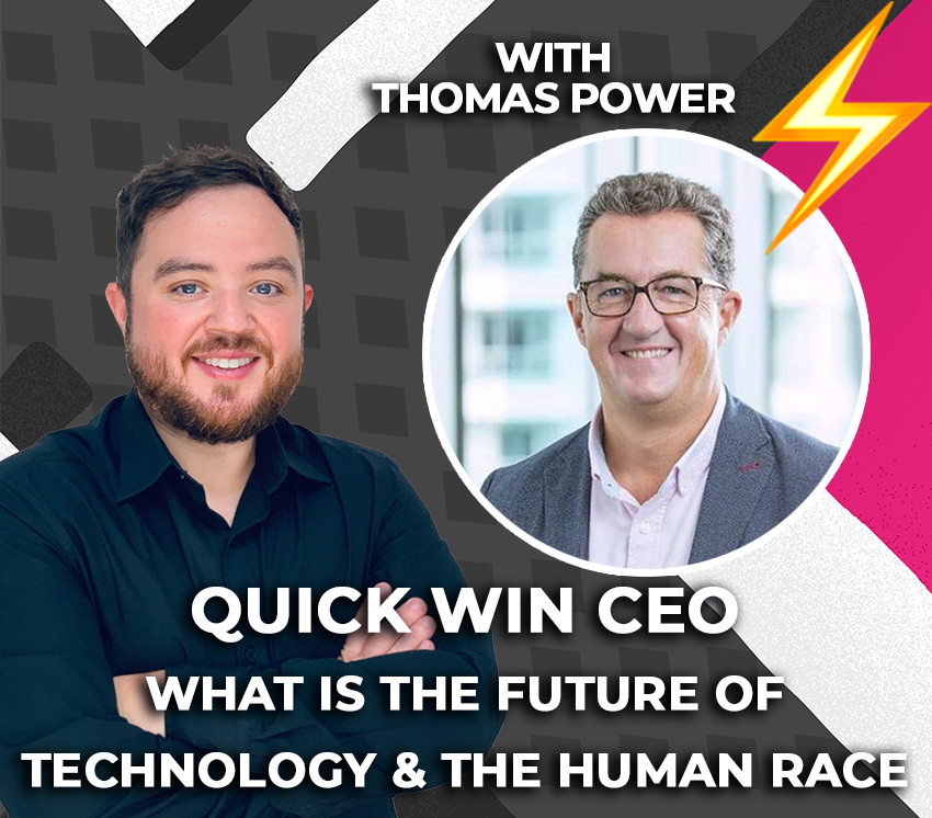 What-is-the-future-of-technology-the-human-race-with Thomas Power