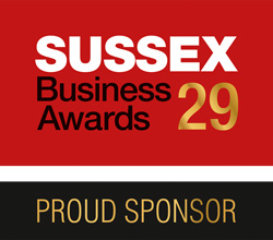 Sussex business awards Proud sponsor
