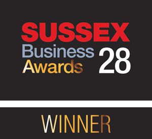 Sussex business awards winner